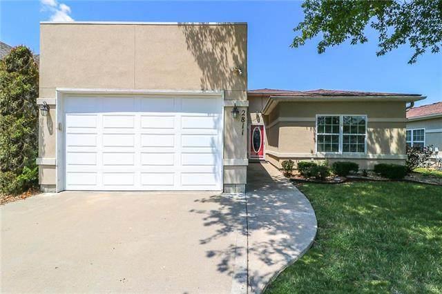 2811 NE Sonora Valley Drive, Blue Springs, MO 64014 (#2230075) :: Ron Henderson & Associates