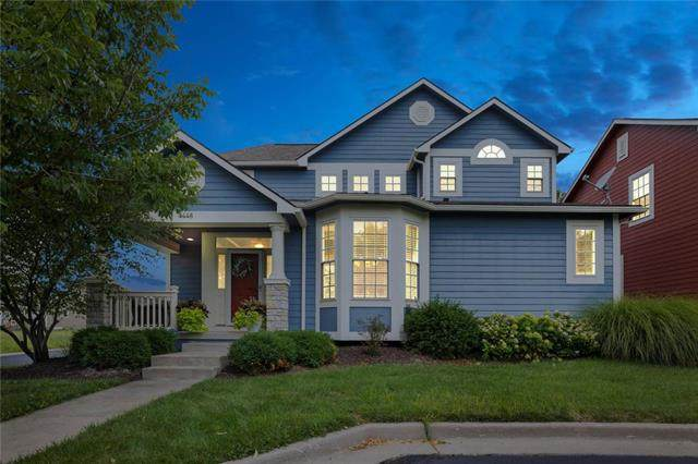 4448 W 161st Place, Overland Park, KS 66085 (#2233628) :: House of Couse Group