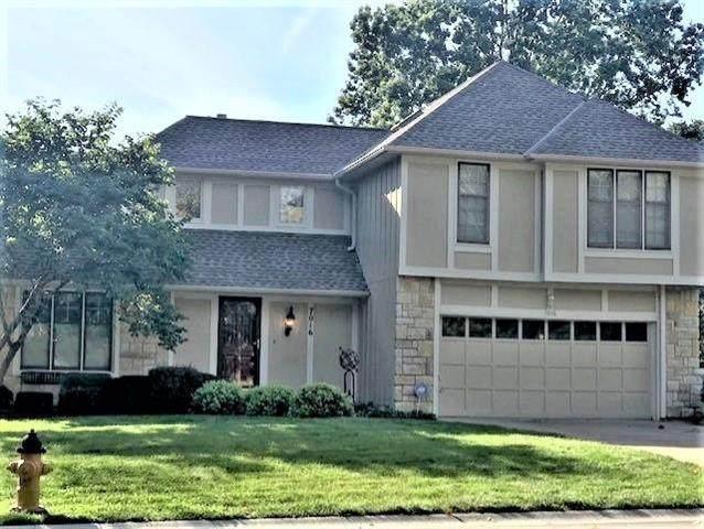 7016 Red Oak Drive, Shawnee, KS 66217 (#2245440) :: The Kedish Group at Keller Williams Realty