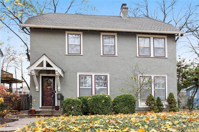 414 W Greenway Terrace, Kansas City, MO 64113 (#2250861) :: House of Couse Group