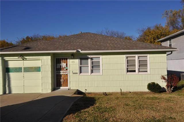 1410 N 45th Terrace, Kansas City, KS 66102 (#2251161) :: House of Couse Group