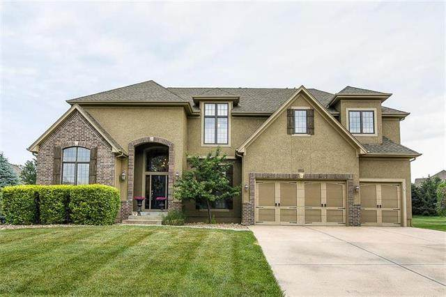 5308 W 149th Terrace, Leawood, KS 66224 (#2253543) :: House of Couse Group