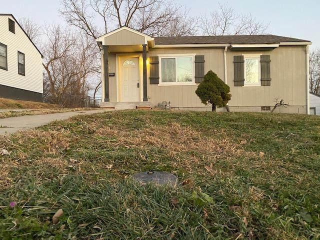 1409 N 45th Terrace, Kansas City, KS 66102 (#2255031) :: House of Couse Group