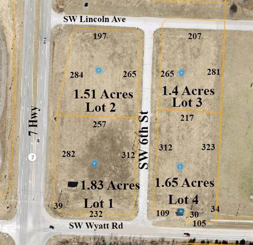SW 7 Lot 2 Highway, Blue Springs, MO 64014 (#2315004) :: The Rucker Group
