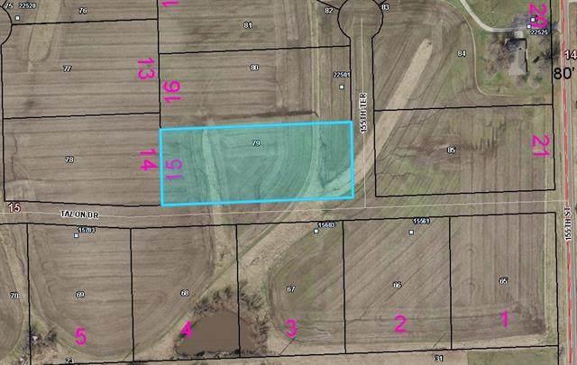Lot 15 155T Terrace, Basehor, KS 66007 (#2315889) :: The Rucker Group