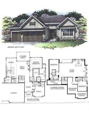 9172 Green Road, Lenexa, KS 66227 (#2318946) :: Beginnings KC Team