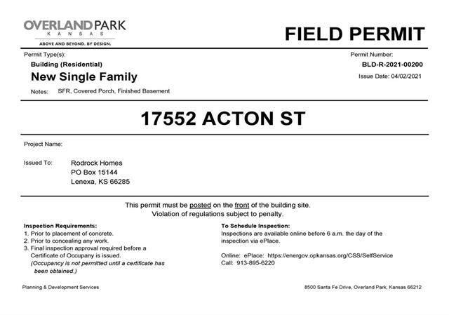 17552 Acton Street, Overland Park, KS 66085 (#2320407) :: The Shannon Lyon Group - ReeceNichols