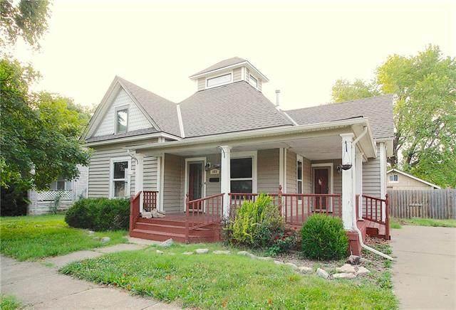 121 W 2nd Avenue, Garnett, KS 66032 (MLS #2329584) :: Stone & Story Real Estate Group