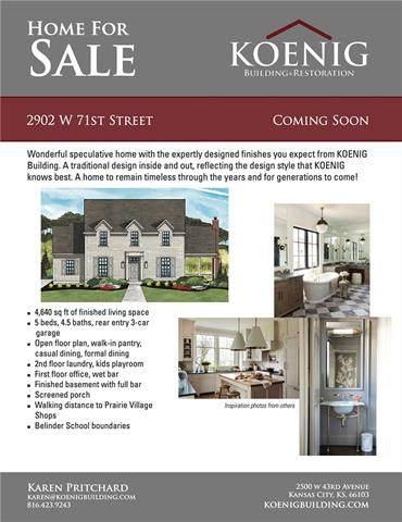 2909 W 71 Street, Prairie Village, KS 66208 (#2337063) :: Tradition Home Group | Better Homes and Gardens Kansas City