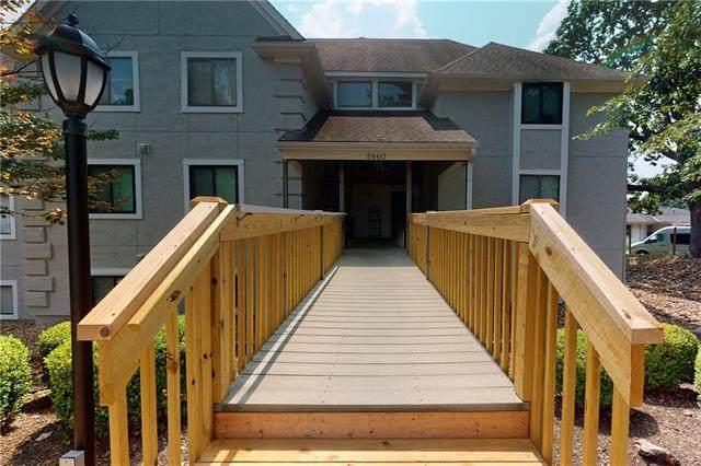 5860 Park Street #7, Shawnee, KS 66216 (#2337869) :: Ron Henderson & Associates