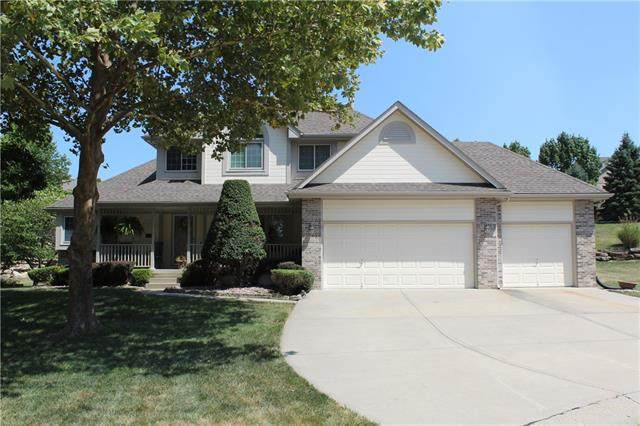 2812 Emerald Creek Place, Blue Springs, MO 64015 (#2339396) :: Audra Heller and Associates
