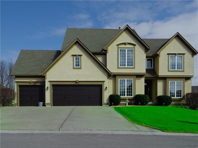 5521 NE Oaks Ridge Lane, Lee's Summit, MO 64064 (#2087985) :: Edie Waters Team