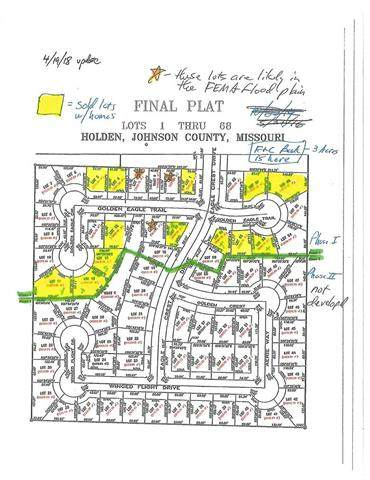 Lot#60 Eagle Crest Drive, Holden, MO 64040 (#2104815) :: Edie Waters Network