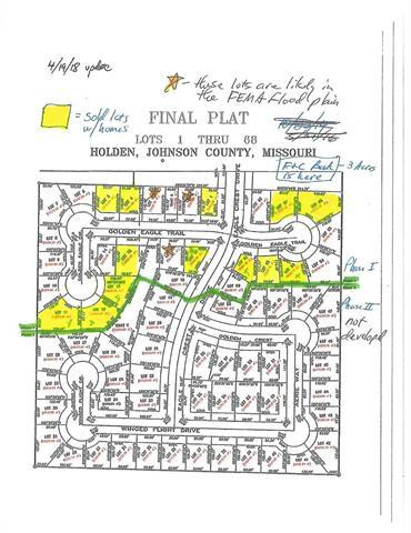 Lot#68 Eagle Crest Drive, Holden, MO 64040 (#2104822) :: Kansas City Homes