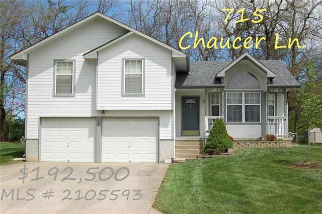 715 Chaucer Lane, Warrensburg, MO 64093 (#2105593) :: Edie Waters Network