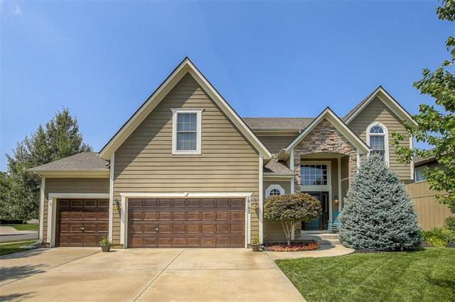 16192 S Heatherwood Street, Olathe, KS 66062 (#2124380) :: Edie Waters Network