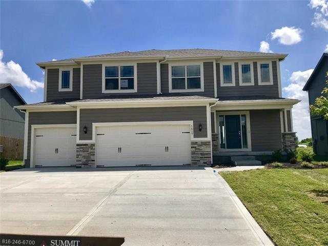 1617 SW Merryman Drive, Lee's Summit, MO 64082 (#2136104) :: House of Couse Group