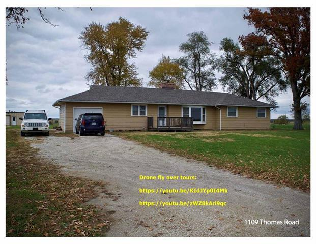 1109 Thomas Road, Pomona, KS 66076 (#2142174) :: Kansas City Homes