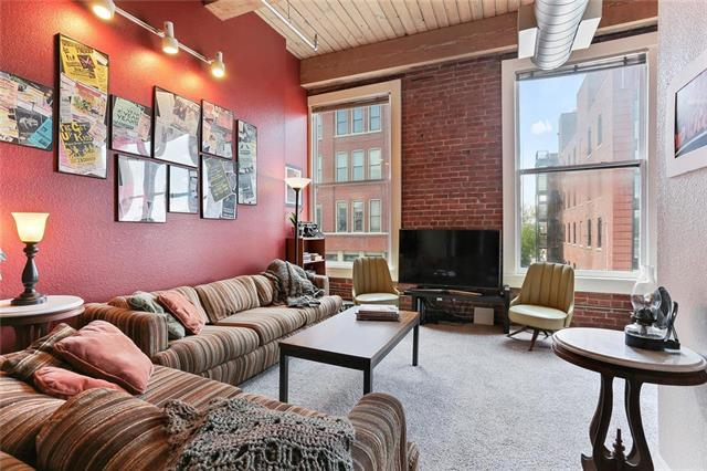 609 Central Street #1202, Kansas City, MO 64105 (#2164856) :: House of Couse Group
