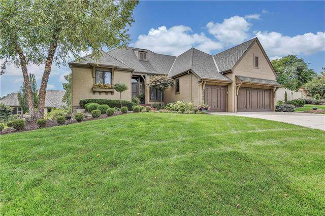 4745 W 151st Terrace, Leawood, KS 66224 (#2188702) :: Kansas City Homes
