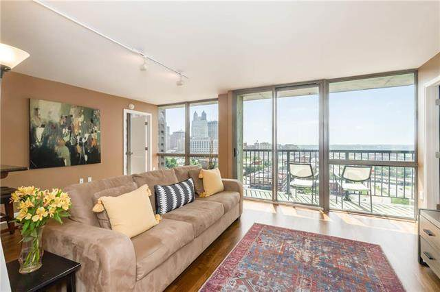 600 Admiral Boulevard #1607, Kansas City, MO 64106 (#2232004) :: Jessup Homes Real Estate | RE/MAX Infinity