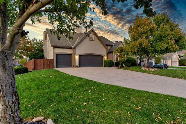 7896 W 153rd Terrace, Overland Park, KS 66223 (#2247065) :: Edie Waters Network