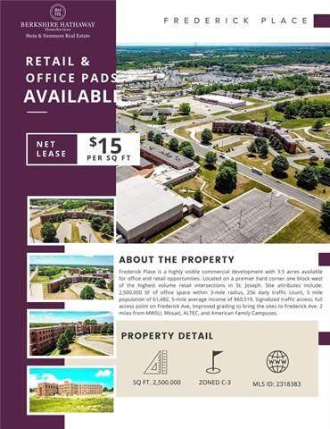 3502 Frederick Avenue, St Joseph, MO 64506 (#2318383) :: Dani Beyer Real Estate