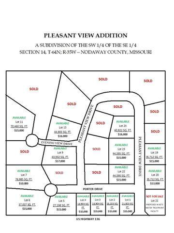 Lot 19 Us Highway 136 N/A, Maryville, MO 64468 (#4742) :: Ask Cathy Marketing Group, LLC