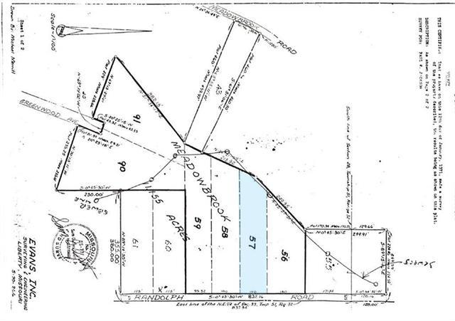 0 N Randolph - Lot 57 Road, Kansas City, MO 64119 (#2116445) :: Kansas City Homes
