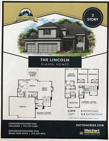 19004 Deer Run Street, Spring Hill, KS 66083 (#2128438) :: Edie Waters Network