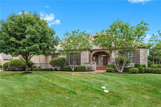 14100 Nicklaus Drive, Overland Park, KS 66223 (#2119149) :: No Borders Real Estate