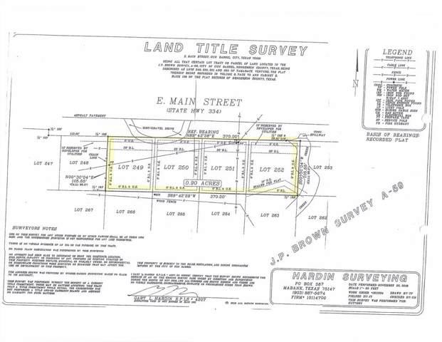 319 E Main, GUN BARREL CITY, TX 75156 (MLS #89624) :: Steve Grant Real Estate