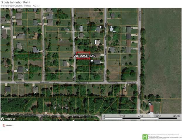 208 Masthead, GUN BARREL CITY, TX 75156 (MLS #90472) :: Steve Grant Real Estate
