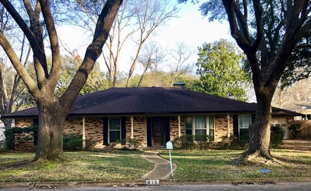 815 Bradley, ATHENS, TX 75751 (MLS #90490) :: Steve Grant Real Estate