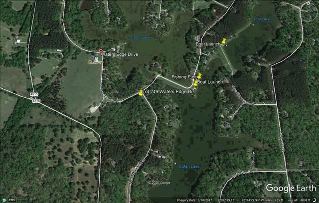 Lot 249 Waters Edge Drive, LARUE, TX 75770 (MLS #91633) :: Steve Grant Real Estate