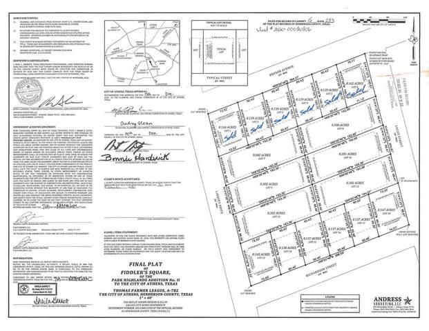 509 Richardson, ATHENS, TX 75751 (MLS #95664) :: Steve Grant Real Estate