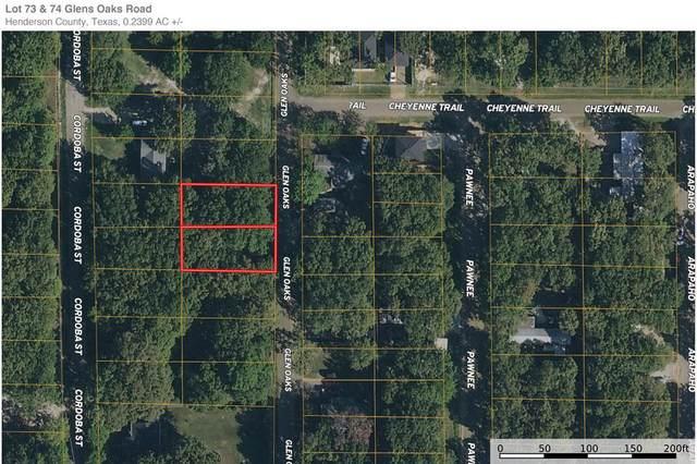 LOT73&74 Golden Oaks, MABANK, TX 75156 (MLS #96410) :: Steve Grant Real Estate
