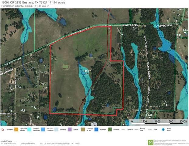 15091 Cr 2938, EUSTACE, TX 75124 (MLS #94806) :: Steve Grant Real Estate