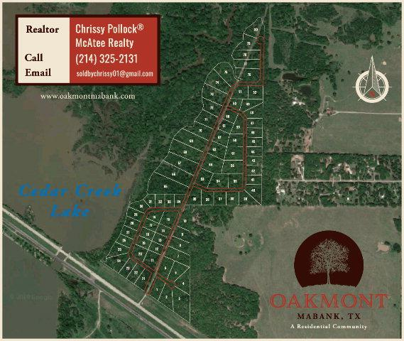 112 Oakmont Dr, MABANK, TX 75147 (MLS #86231) :: Steve Grant Real Estate