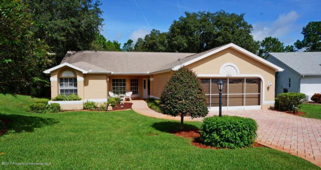 2501 Crystal Lake Drive, Spring Hill, FL 34606 (MLS #2186460) :: The Hardy Team - RE/MAX Marketing Specialists
