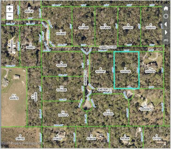 0 Camelot (Lot 7) Drive, Brooksville, FL 34601 (MLS #2187946) :: The Hardy Team - RE/MAX Marketing Specialists