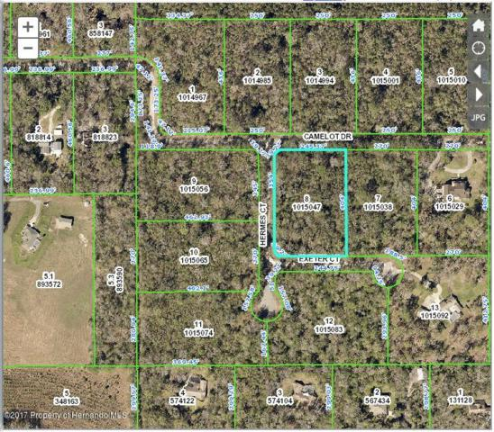 0 Camelot (Lot 8) Drive, Brooksville, FL 34601 (MLS #2187948) :: The Hardy Team - RE/MAX Marketing Specialists