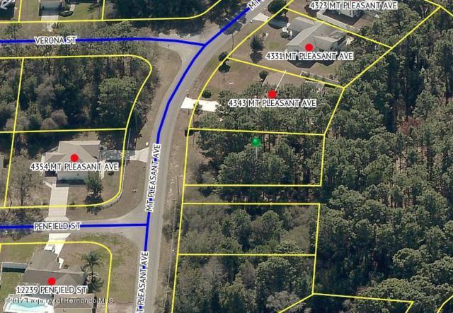 0 Mt Pleasant Avenue, Spring Hill, FL 34609 (MLS #2188195) :: The Hardy Team - RE/MAX Marketing Specialists