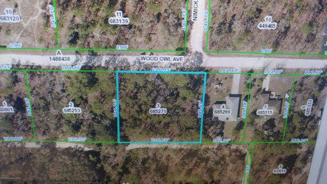 LOT 3 Wood Owl Avenue, Brooksville, FL 34614 (MLS #2188620) :: The Hardy Team - RE/MAX Marketing Specialists