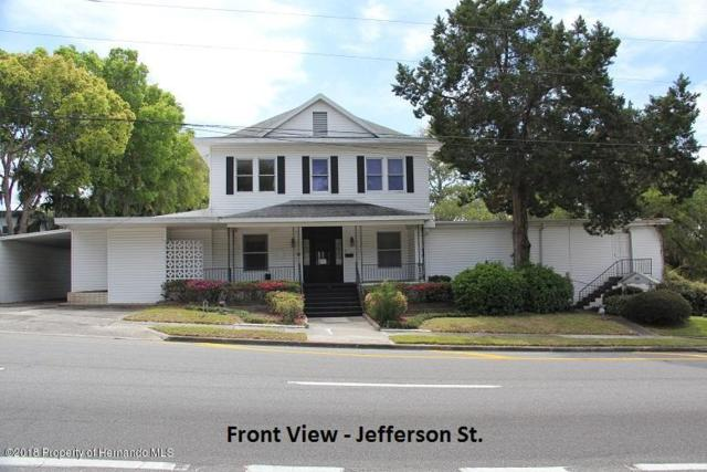 504 Jefferson Street, Brooksville, FL 34601 (MLS #2190754) :: The Hardy Team - RE/MAX Marketing Specialists
