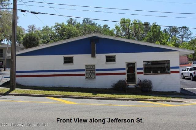 315 Jefferson Street, Brooksville, FL 34601 (MLS #2190917) :: The Hardy Team - RE/MAX Marketing Specialists