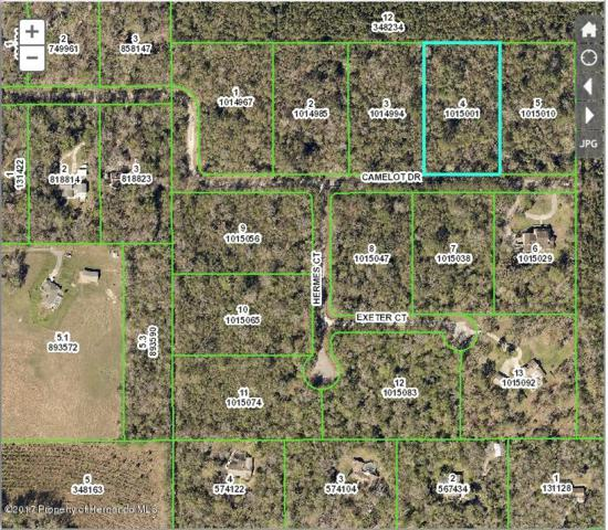 0 Camelot (Lot 4) Drive, Brooksville, FL 34601 (MLS #2191430) :: The Hardy Team - RE/MAX Marketing Specialists