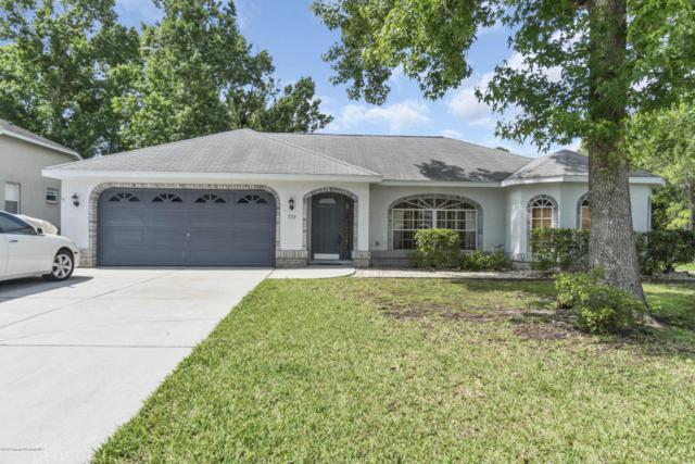 533 Oakhill Court, Brooksville, FL 34601 (MLS #2192982) :: The Hardy Team - RE/MAX Marketing Specialists