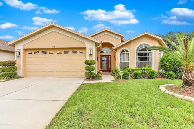 183 Center Oak Circle, Spring Hill, FL 34609 (MLS #2193889) :: The Hardy Team - RE/MAX Marketing Specialists