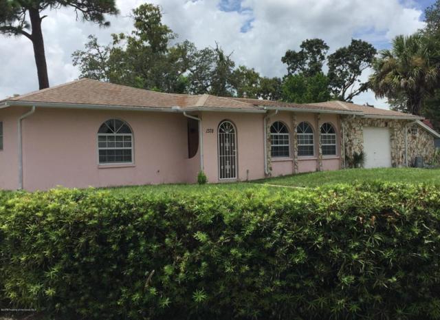 1378 Pilgrim Road, Spring Hill, FL 34606 (MLS #2194998) :: The Hardy Team - RE/MAX Marketing Specialists